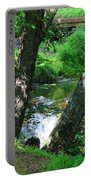 Toms Creek In Summer 3 Portable Battery Charger