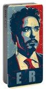 Tony Stark Portable Battery Charger by Caio Caldas