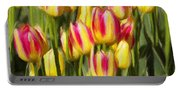 Too Many Tulips Portable Battery Charger