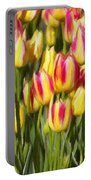 Too Many Tulips Portable Battery Charger by Jeff Kolker