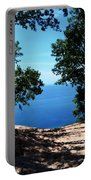 Top Of The Dune At Sleeping Bear Ll Portable Battery Charger