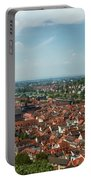 Top View Of Heidelberg, Germany. Portable Battery Charger