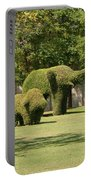 Topiary Elephants, Thailand Portable Battery Charger