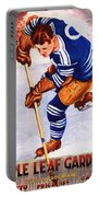 Toronto Maple Leafs Vintage Program Two Portable Battery Charger