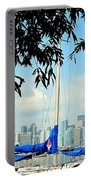Toronto Through A Forest Of Masts Portable Battery Charger