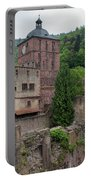 Torturm And Seltenleer Heidelberger Schloss Portable Battery Charger
