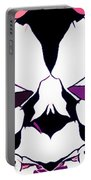 Total Eclipse Of The Rose Abstract Portable Battery Charger
