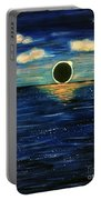 Totality On The Sea - Solar Eclipse  Portable Battery Charger