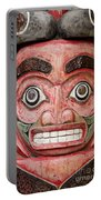 Totem Pole Detail Portable Battery Charger