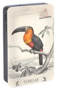Toucan Bird Responsible Travel Art Portable Battery Charger