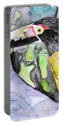 Toucan Bird Tropical Painting Fine Modern Art Print Portable Battery Charger