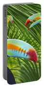 Toucan Threesome Portable Battery Charger