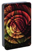 Touch Of Sunshine Abstract Portable Battery Charger