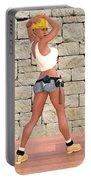 Tough Girl Portable Battery Charger