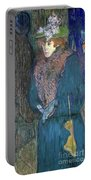 Toulouse-lautrec: J.avril Portable Battery Charger