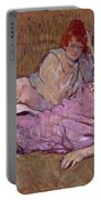 Toulouse Lautrec The Sofa Portable Battery Charger