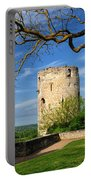 Tower At Chateau De Chinon Portable Battery Charger