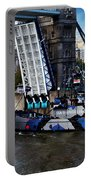 Tower Bridge And Boat Portable Battery Charger