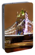 Tower Bridge Evening Portable Battery Charger