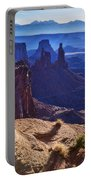 Tower Sunrise Portable Battery Charger by Chad Dutson