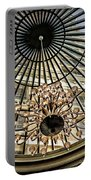 Tower Through Glass Dome In Bellagio Ceiling Portable Battery Charger