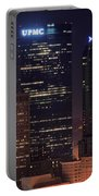 Towering Buildings Of Pittsburgh Portable Battery Charger
