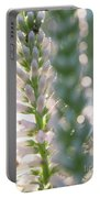 Towering Flowers Portable Battery Charger