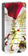 Towering Lily And Rose Portable Battery Charger