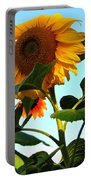 Towering Sunflower Portable Battery Charger