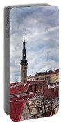 Towers Of The Tallinn Old Town Portable Battery Charger