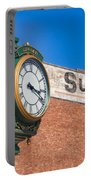 Town Clock Lincoln Nebraska Portable Battery Charger