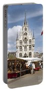 Town-hall And Marketplace Portable Battery Charger
