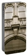 Town Hall, Arch And Windows Portable Battery Charger