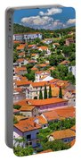 Town Of Drnis And Dalmatian Inland Panorama Portable Battery Charger