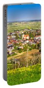 Town Of Ivanec Aerial Springtime View Portable Battery Charger