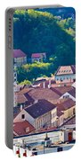 Town Of Krapina Rooftops View Portable Battery Charger