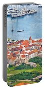Town Of Seget Aerial View Portable Battery Charger