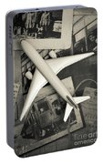 Toy Airplane Vintage Travel Portable Battery Charger