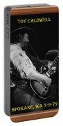 Toy Caldwell Of The Marshall Tucker Band Portable Battery Charger
