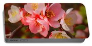 Toyo-nishiki Quince Blooms Portable Battery Charger
