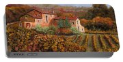 tra le vigne a Montalcino Portable Battery Charger
