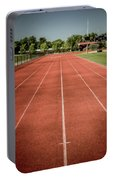 Track And Field Of Depth One Portable Battery Charger
