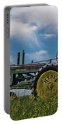 Tractor In Field Portable Battery Charger