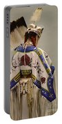 Pow Wow Traditional Dancer 1 Portable Battery Charger