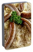 Traditional German Food Portable Battery Charger