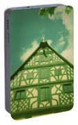 Traditional House Roth Germany Cross Process Holga Photography Portable Battery Charger