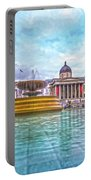 Trafalgar Square Fountain London 8 Portable Battery Charger