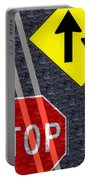 Traffic Signs Portable Battery Charger
