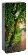 Trail Into Sunset Portable Battery Charger