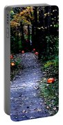 Trail Of 100 Jack-o-lanterns Portable Battery Charger